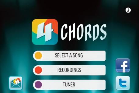 4 Chord App App Reviews By Guitar Coach Magazine