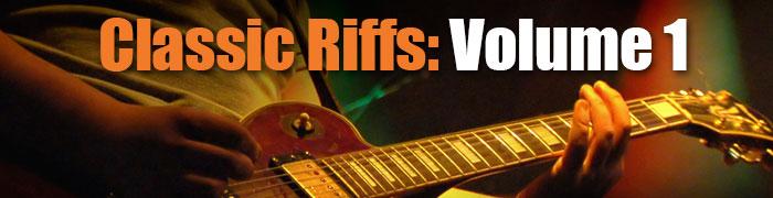 Classic Guitar Riffs 1