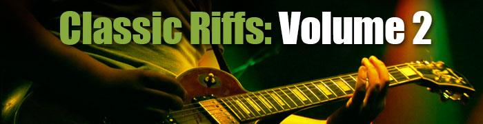 Classic Guitar Riffs 2
