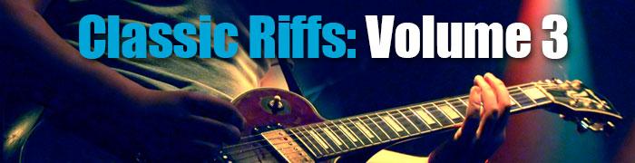 Classic Guitar Riffs 3