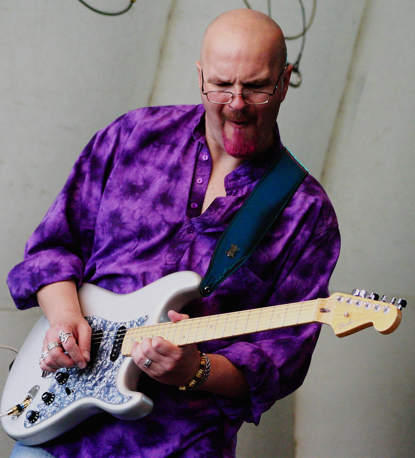 Roy Fulton, Guitarist with a Pink Beard