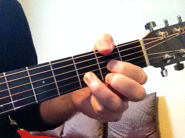 How to Play a D/F# Chord