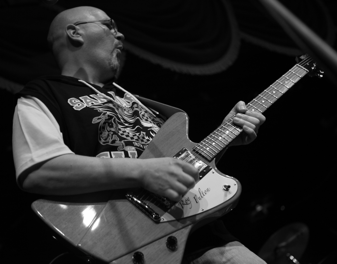 Roy Fulton's Custom Guitar
