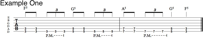 Power Chord Riff in Drop D