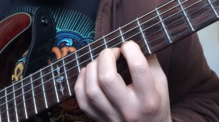 Preparing for a Guitar Bend 1