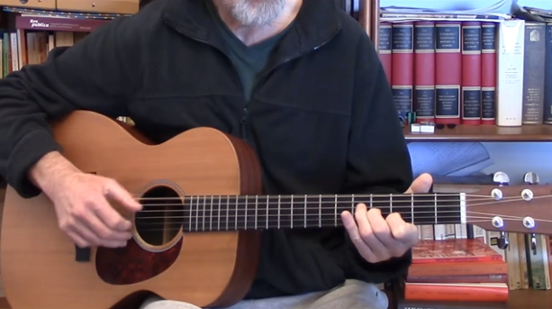 Jim Bruce Teaching Acoustic Blues