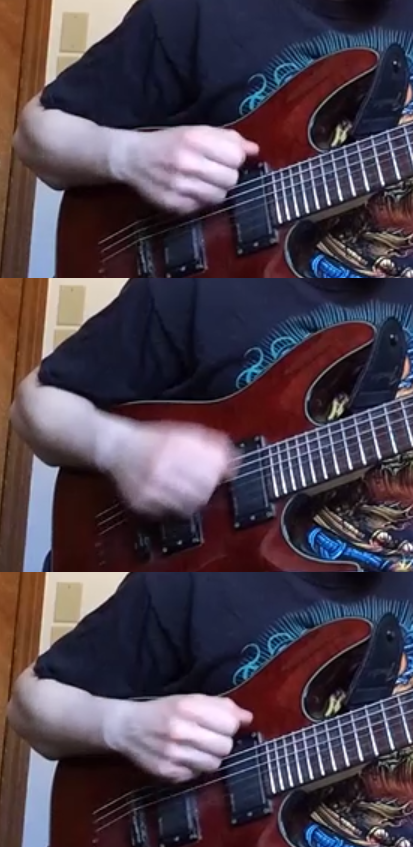 Alternate Strumming from the Elbow
