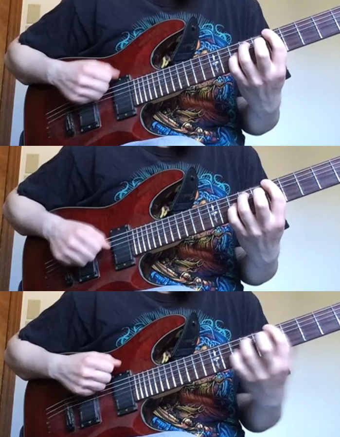 Alternate Strumming from the Wrist