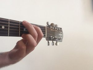 G Major Chord on Guitar