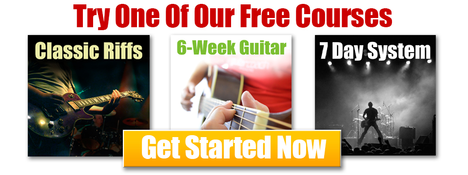 Free Guitar Courses