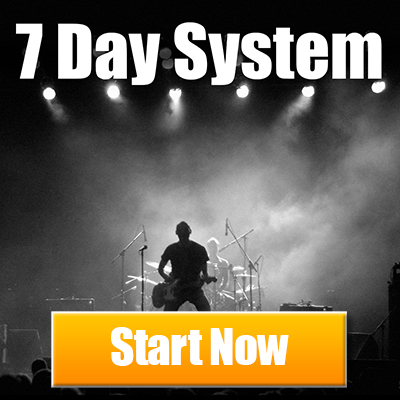 Free Guitar Lessons. The 7 Day System