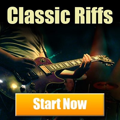 Free Guitar Lessons. Classic Riffs