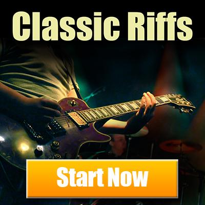 Free Guitar Lessons. Classic Riffs