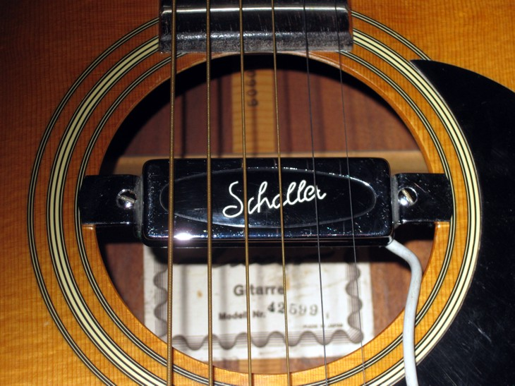 A Sound Hole Pickup for an Acoustic Guitar
