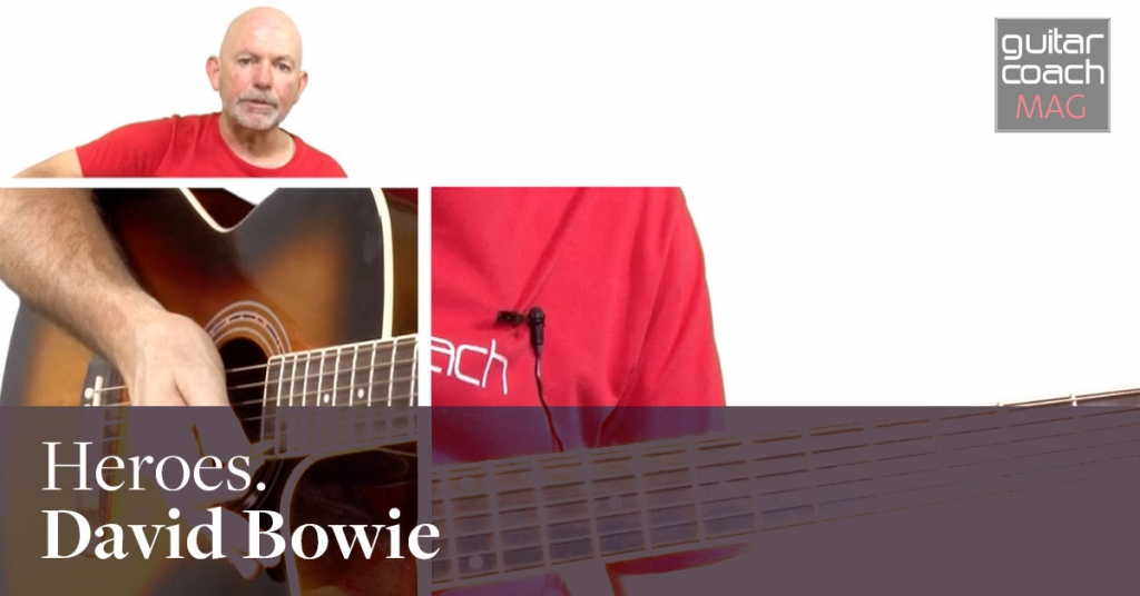 How to play Heroes by David Bowie