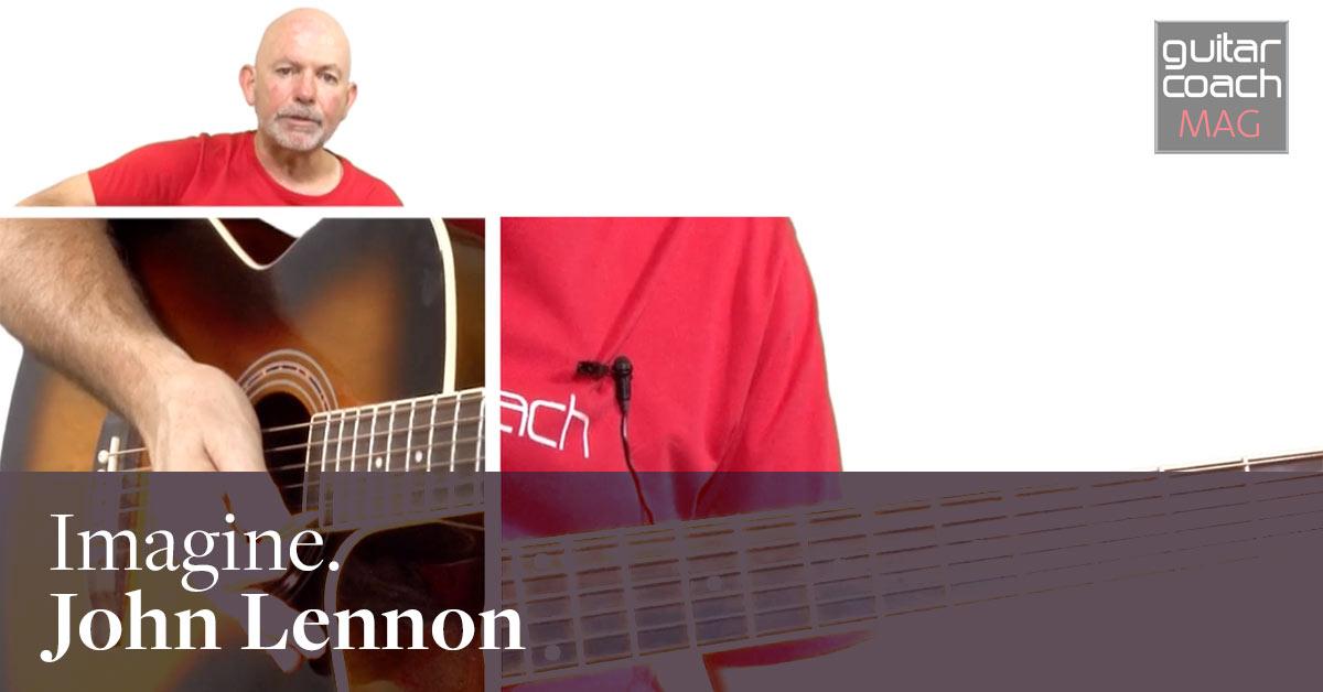 Imagine. John Lennon. Easy Guitar Songs