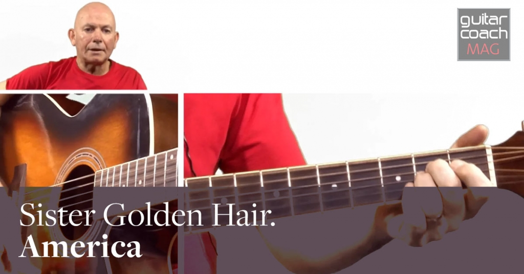 How to play Sister Golden Hair by America