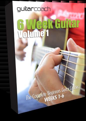 6-Week Guitar Volume 1