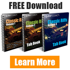 Free Guitar Riffs Tab Books